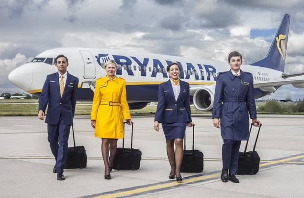 Assunzioni Ryanair 2017: Selezioni per Assistenti di Volo