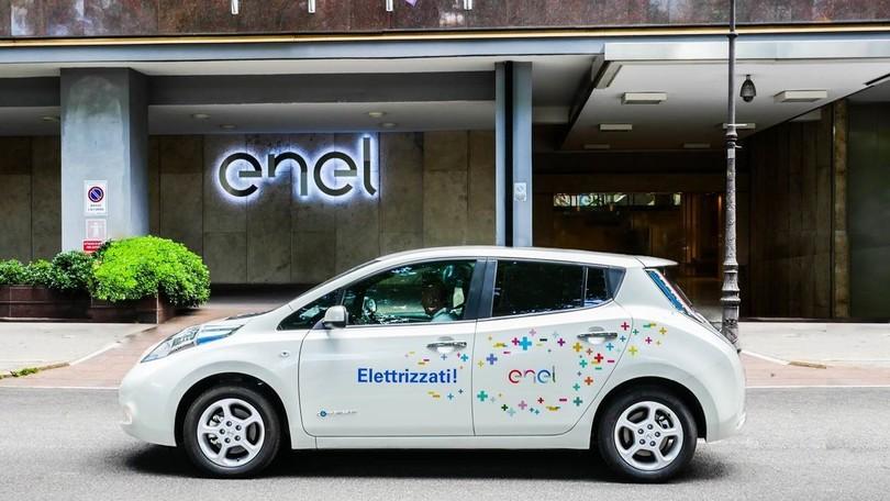 Car Sharing Elettrico Aziendale: la Novità Firmata Nissan ed Enel